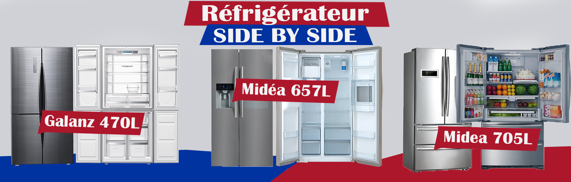 REFRIGERATEUR SBS